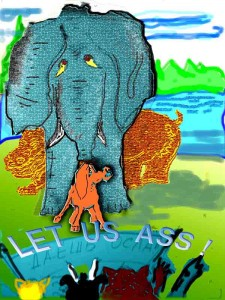 Слон и Осёл